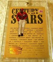 KEN GRIFFEY JR 2005 THROWBACK THREADS CENTURY STARS SPECTRUM FOIL SERIAL # 3/100