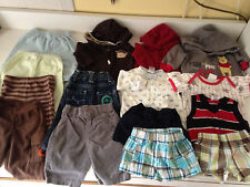 15pc baby clothes unisex wholesale lot size: 0-3 mon mix pre-owned.