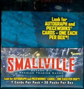 Smallville Season 6 OPENED Box of 36 Sealed Packs [No Autographs or Costumes]