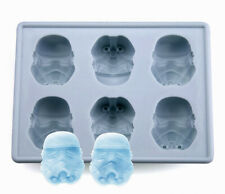 Star Wars Stormtrooper Ice Tray Cube Chocolate Candy Jello Silicone Mold Kid Fun