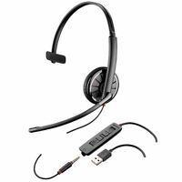 NEW Plantronics Blackwire C315.1 Monaural USB / 3.5mm UC headset with Carry Case