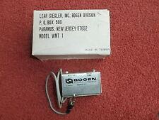 Bogen WMT-1 WMT1 15k:600 600:15k Line Input & trasformatore di uscita audio corrispondenti