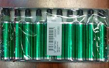 ST DUPONT GREEN BUTANE GAS FUEL REFILL FOR GATSBY LIGHTER PACK OF 10