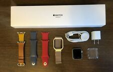 Apple Watch Series 3 38mm Silver Aluminum Case extra bands & clear case cover