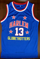 Wilt Chamberlain #13 Harlem Globetrotters Team Men's Basketball Jersey Stitched