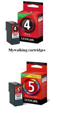 GENUINE LEXMARK 4 BLACK + 5 COLOUR INK X2690 X3690 X5690 X6690 Z2390 FASTPOSTAGE