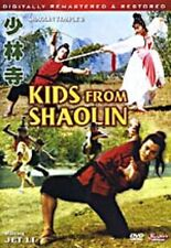 Kids From Shaolin (Shaolin Temple 2) Dvd Digitally Remastered and Restored