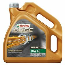Castrol EDGE Supercar 10W60 Fully Synthetic Performance Car Engine Oil - 4L
