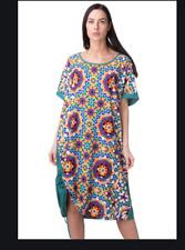 new SPORT MARINA RINALDI Tunic t-shirt Dress plus sz 2X L(MR27) us 18W blue