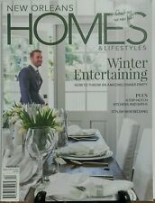 New Orleans Homes & Lifestyles Winter 2014 Winter Entertaining FREE SHIPPING sb