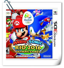 3DS Mario & Sonic at the Rio 2016 Nintendo Sports Games