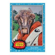 ELLO ATSY - - 2020 Topps Star Wars Living Set - - Card #139 - The Force Awakens