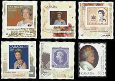 2012-Queen Elizabeth II Diamond Jubilee (6-Permanent stamps)  MNH