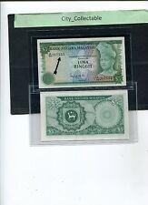 B006 # MALAYSIA 1976 3RD SERIES $5 A/92 217555 * UNC