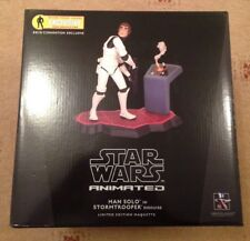 Star Wars Gentle Giant Animated Han Solo Stormtrooper Disguise Maquette New MISB