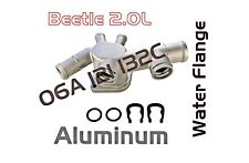 VW BEETLE ALUMINUM Water Coolant Flange 06A-121-132C with the 2.0L Engine