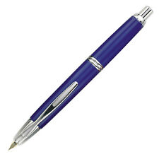 Pilot Vanishing Point Fountain Pen - Blue Rhodium