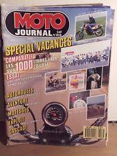 moto journal 808 30/7/87 1000 yamfzr kawa rx suzuki gsx r600 xt super motard