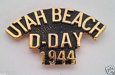 Utah Beach D-Day 1944 World War Ii Military Veteran Hat Pin P15855 Ee