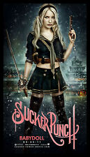 Sucker Punch FRIDGE MAGNET 5x8 Babydoll Magnetic Movie Poster Canvas Print
