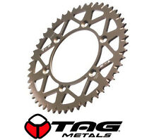 TAG METALS REAR MOTOCROSS SPROCKET for HONDA CR CRF 125 250 450 BRONZE 50 TOOTH