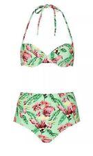 Topshop High Waist Bikini Swimwear for Women