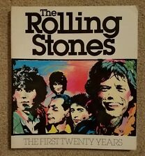 The Rolling Stones : The First Twenty Years by David Dalton 1982 softcover VG D