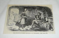 1878 magazine engraving ~ MARY MAGDALEN DE VERCHERES
