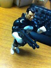 1990 TOYBIZ MARVEL SUPERHEROES THE PUNISHER ACTION FIGURE LOOSE WITH RIFLE GUN
