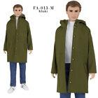 ELENPRIV FA013-M khaki parka for Ken Fashionista dolls and similar body dolls