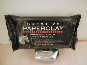 Creative Paper Clay Modeling Material Natural White 8oz