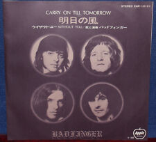 """BADFINGER """"Carry On Till Tomorrow"""" 1970 Japan ONLY Apple 7"""" w/ps BEATLES WINGS"""