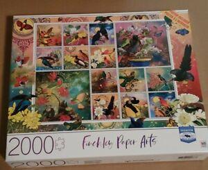 Cardinal Milton Bradley Hasbro Finchley Paper Arts 2000 Piece