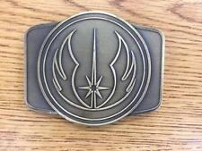 STAR WARS JEDI BELT BUCKLE 2016 SERLO LE50 COLLECTIBLE LIMITED EDITION