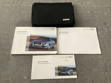 AUDI A3 CABRIOLET / CONVERTIBLE (2008 - 2013) HANDBOOK OWNERS MANUAL