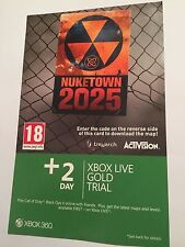 XBOX 360 COD CALL OF DUTY BLACK OPS II ADDon CONTENT DLC CODE PACK NUKETOWN 2025