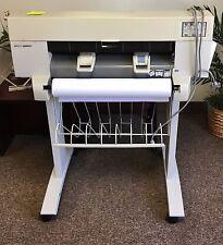 "24"" HP DesignJet 450c Plotter/Large-Format Inkjet Printer works great"