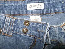 St John's stretch jean shorts 12