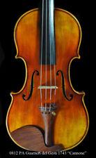 "Premium Antique Guarneri del Gesu Violin 1743 ""Cannone"" Violin RINging tone"