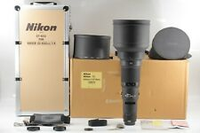 """"""" RARE """"【Almost Unused in Box】 Nikon Ai-s Nikkor 600mm F/4 ED IF From JAPAN #432"""
