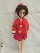 Vtg Tammy Sindy Clone Doll / Plastic Hong Kong Handmade Clothes