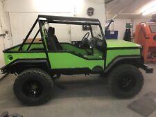 Suzuki sj Jeep 4x4 road legal pick up truck green lane off road mud slinger