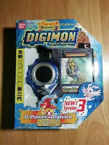 Digimon Digivice D-power Version 3.01 Blue color