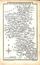 Antique map, Buckinghamshire …