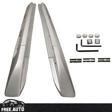 Fits 03-10 Porsche Cayenne OE Factory Style Aluminum Silver Top Roof Rack Rail