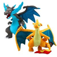 Pokemon Mega Evolution X & Y Charizard Plush Doll Stuffed Toy Rare Gift 12""