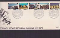 1879-1979 Centenary Darwin Botanical Gardens Australia FDC N-33 NT territory