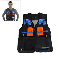 Veste combat gilet pour nerf N-Strike Elite Team avec poche de rangement enfant