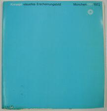 """Olympische Spiele 1972 München """"Konzept Visuelles Erscheinungsbild"""" Otl Aicher"""