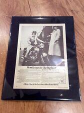 HONDA Vintage Original CB250 1969 Advert British MOTORCYCLE Japanese MOTORBIKE